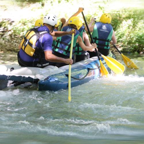 rafting: esempio di discesa